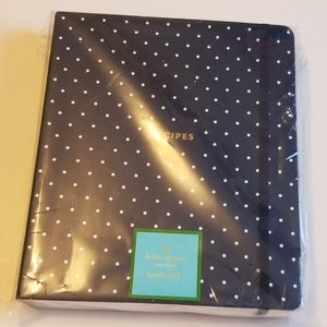 Brand new Kate Spade Recipe Spiral  Notebook